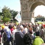 partenza Arco Traiano