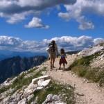 sentiero di montagna