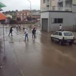 volontari spalno fango