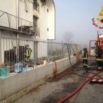 incendio airola abitazione 1