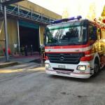 Incendio STIR Pianodardine (Av)