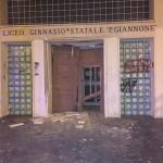 Liceo Classico esplosione