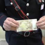 50 euro falsa con cc